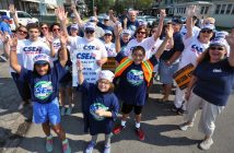 The proud CSEA delegation at the Buffalo Labor Day parade. Photo by John Normile.