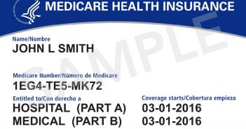 Sameple Medicare Card