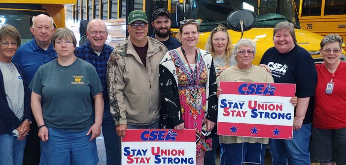 Building our union strong