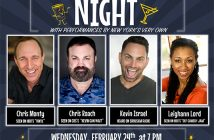 Ad for CSEA Zoom Comedy Night