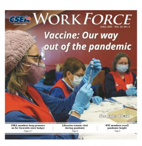 April 2021 Work Force Cover