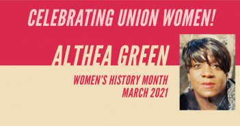 Celebrating Union Women: Althea Green