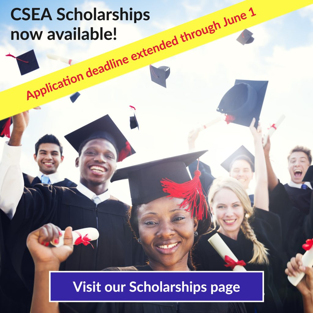 CSEA scholarships now available